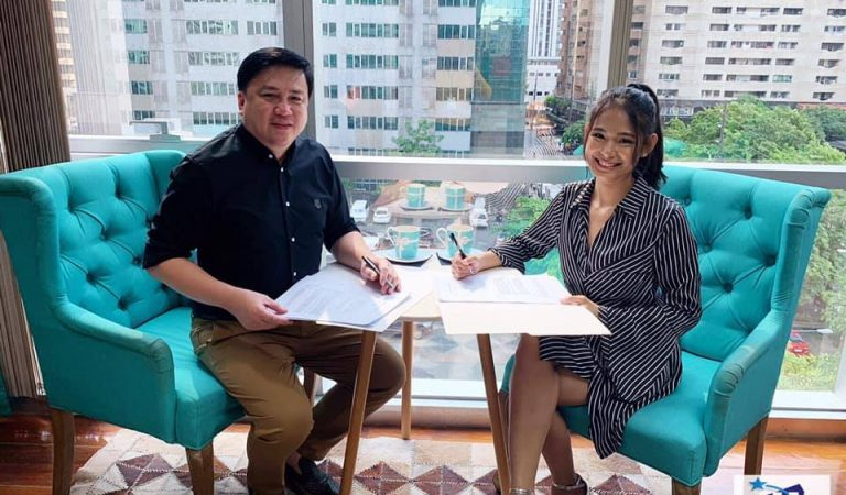 PBB Alumna Devon Seron Signs Up with Arnold Vegafria's ALV Talent Circuit