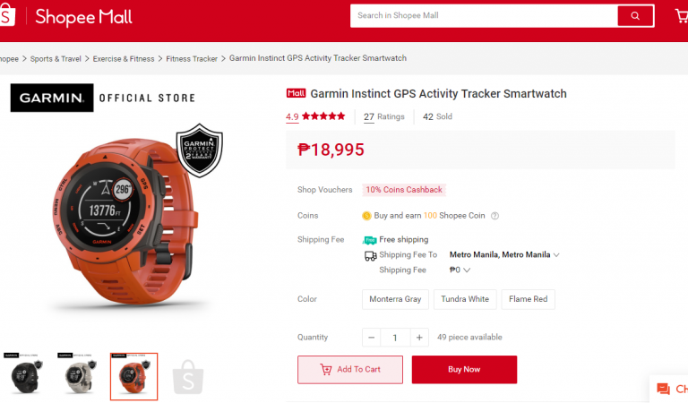 Shopee Offers The Best Garmin Smart Watches For Every Need and Budget
