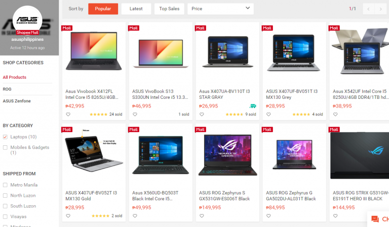 Work From Home | ASUS Laptops on Shopee That Offers Value For Money