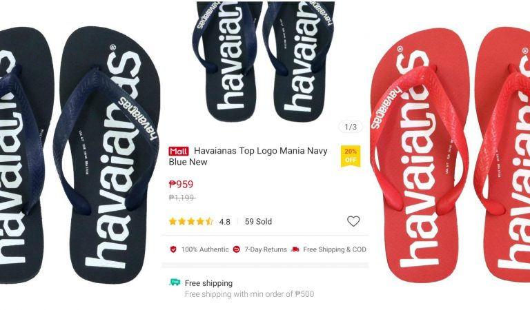 Havaianas Top Logo Mania is the Hottest Flip Flop on Shopee Today!