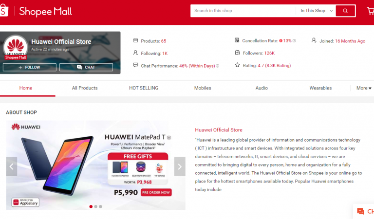 Huawei Tablets For Online Learning Are Selling Out Fast on Shopee