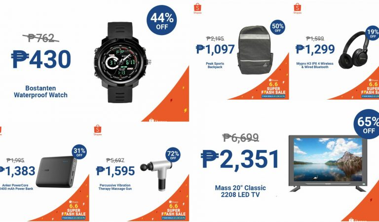 Father's Day Gift Ideas at the Shopee 6.6 Super Flash Sale!