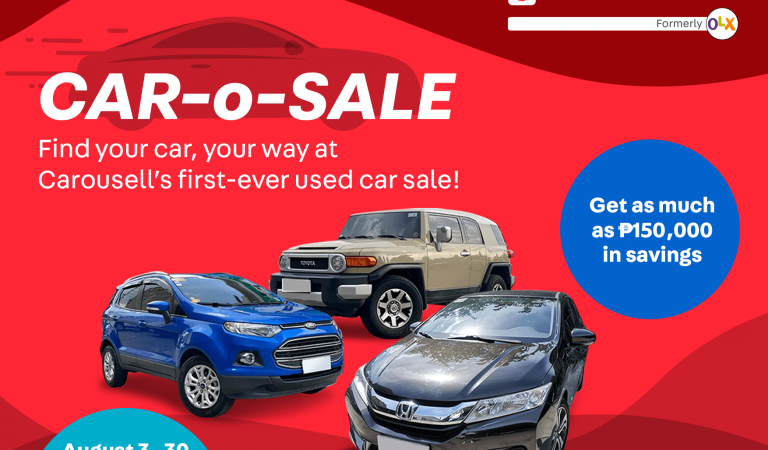 Carousell Holds First Ever Car-O-Sale in the Philippines