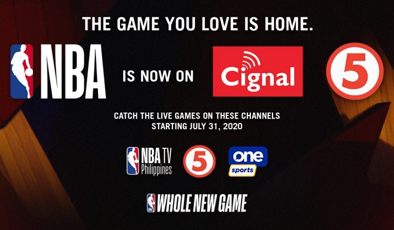 Live NBA Games Return to the Philippines via Cignal TV