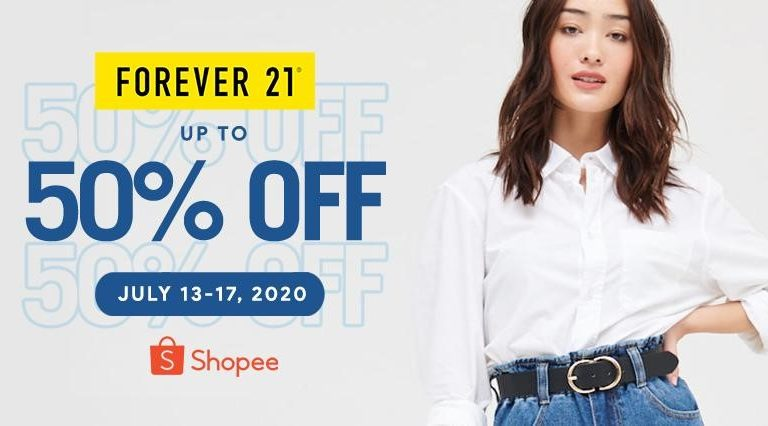 Forever 21 is Now on Shopee! Revamp Your Wardrobe at Up To 50% OFF on Select Styles