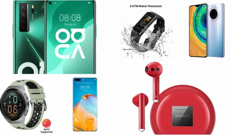 6 Huawei Phones and Accessories with Big Discounts on Shopee
