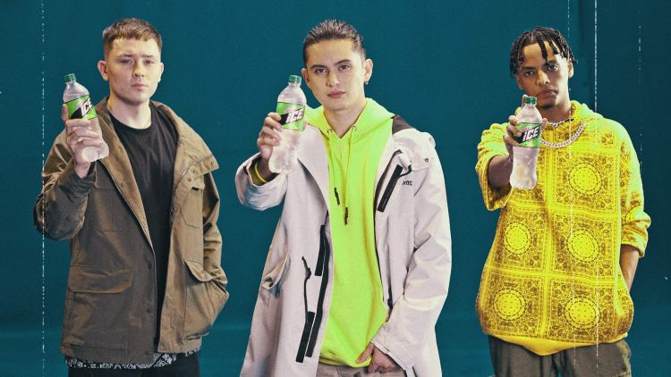 James Reid, Bret Jackson and Astro Kidd for the All New Mountain Dew Ice