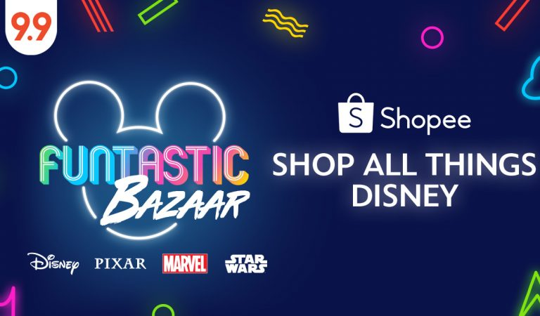 The Disney Funtastic Bazaar Now on Shopee Philippines