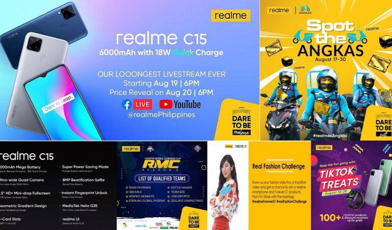 realme Fanfest Features the realme C15 Longest Livestream Launch Event Ever!