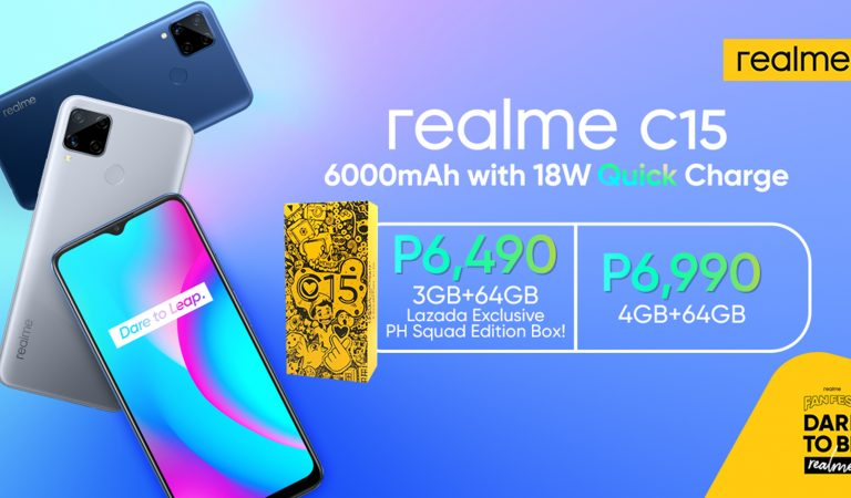 realme Philippines Introduces the World's First Smartphone with 6,000mAh Battery and 18W Quick Charge Combo