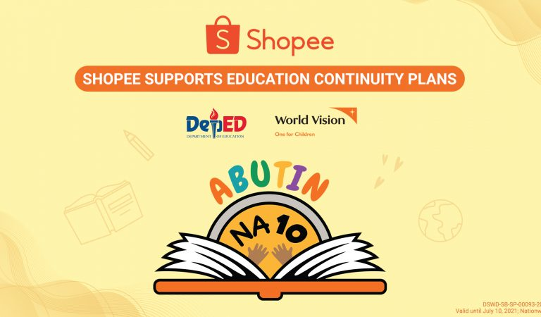 Shopee Supports the Education Continuity Plan of DepEd and World Vision
