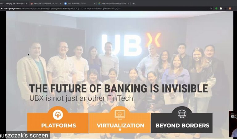 FinTech Innovator UBX is Changing The Face of Banking Forever