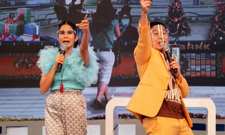 Celebs and Their PAs Joins TV5's Fill In The Bank and Bawal Na Game Show