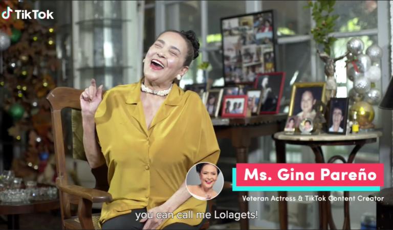 "Veteran Actress Gina Pareño Reinvents Self as ""Lola Gets"" To Become TikTok's Unexpected Sensation"