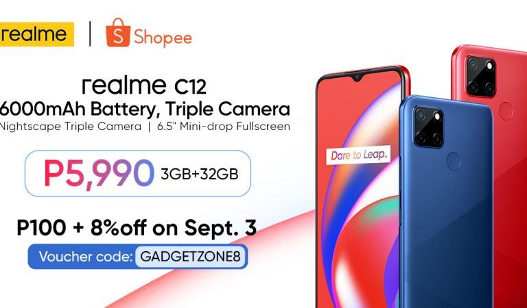 Get Up To 600 Pesos OFF on the New realme C12 Today on Shopee