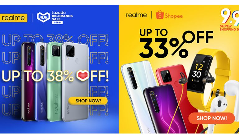 Amazing Deals on realme Smartphones and AIoT Products at the 9.9 Shopee and Lazada Sale