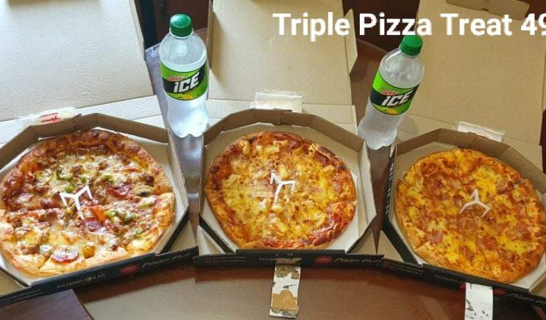 Pizza Hut's Triple Pizza Treat 499 Promo Ushers In The Season of Giving
