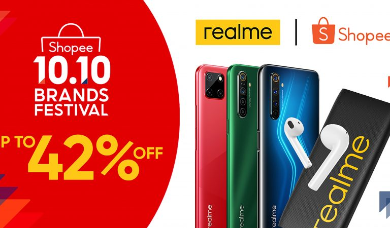 realme Treats Fans with Up To 42% OFF on Phones and AIoT Devices at the Shopee 10.10 Brands Festival