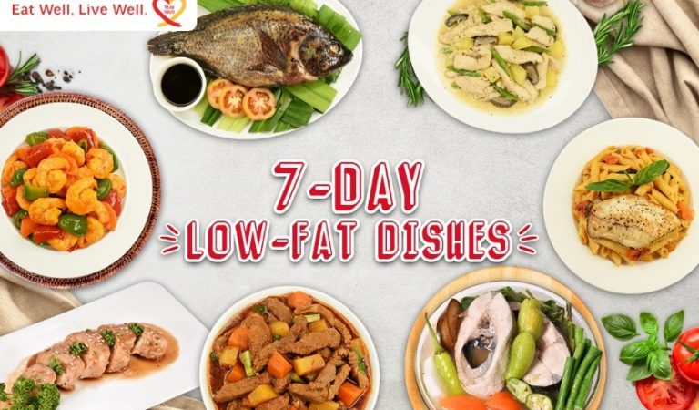 4 Kitchen Tips to Help Filipinos Easily Adapt to a 7-Day Low-Fat But Flavorful Cooking