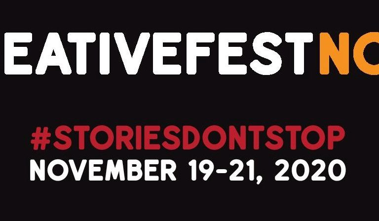 STORIES DON'T STOP: CreativeFest Now! To Gather Creative Geniuses on a 3-Day Virtual Event