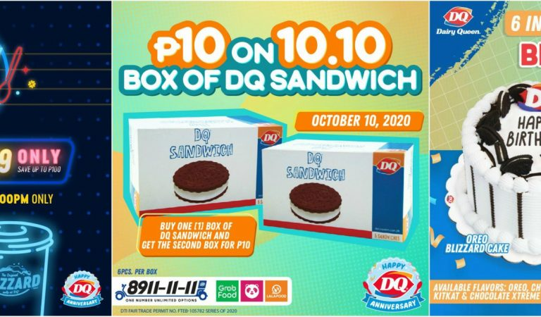 HAPPY Anniversary Offerings From Dairy Queen – DQ Philippines