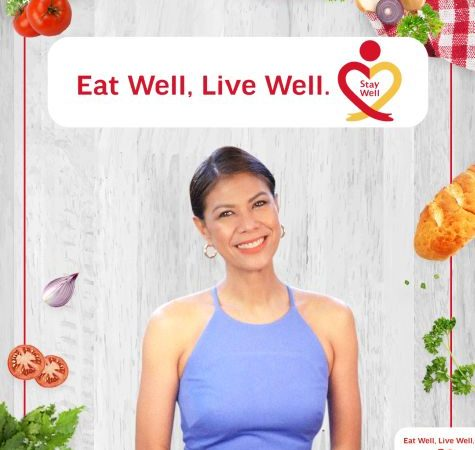 Eat Well, Live Well. Stay Well! A 5-part Online Health and Lifestyle Series Hosted by Suzi Abrera