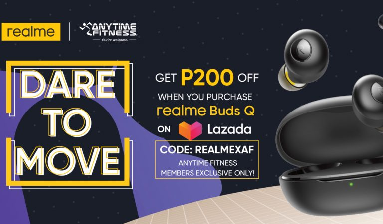 realme Buds Q and Anytime Fitness Offers Dare To Move Joint Discounts and Deals