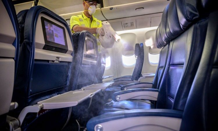 Harvard Study Supports Delta's Extensive Cleaning Practices Which Helps Reduce Infection Risk