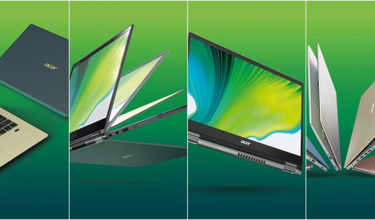Acer Unveils Latest Line of Consumer Laptops with 11th Gen Intel Core + Iris Xe Graphics