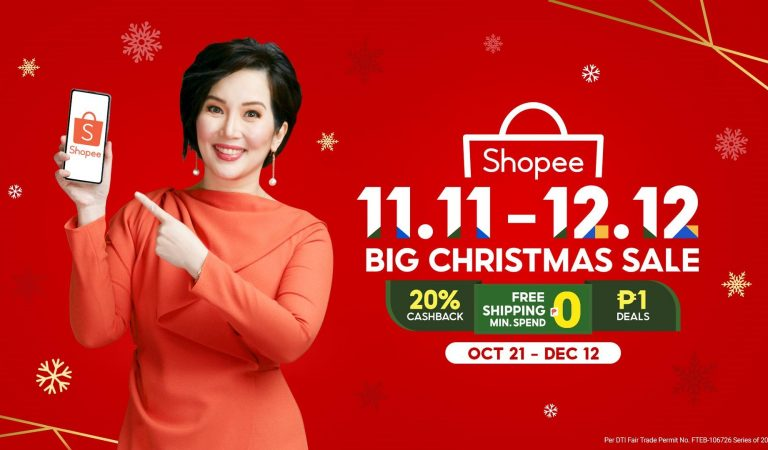 SURE NA! Kris Aquino is the Brand Ambassador for the Shopee 11.11-12.12 Big Christmas Sale