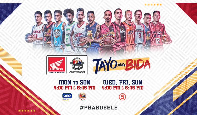 TV5 and Cignal TV to Air PBA Bubble Games Live on TV, Digital and Radio