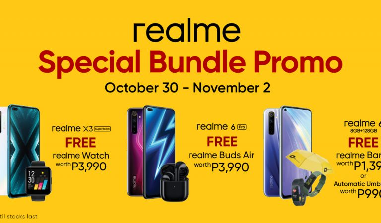 realme Special Bundle Promo Jumpstarts Holiday Shopping and the Season of Gift-Giving
