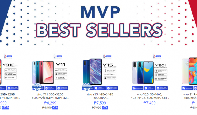 6 Vivo Smartphones with Amazing Deals at the Shopee Mall Right Now