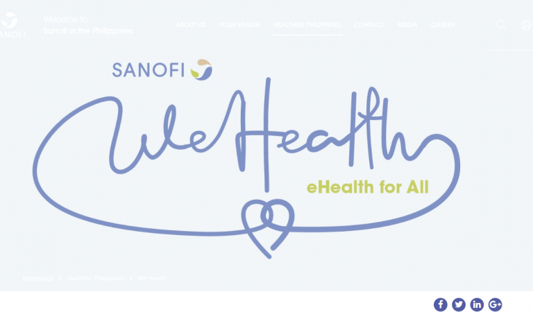Sanofi's WeHealth to Revolutionize Telemedicine in the Philippines