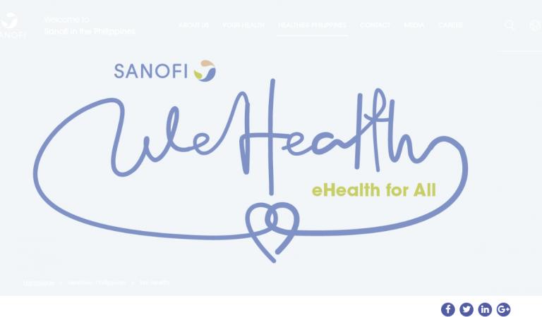 Sanofi's WeHealth to Revolutionize Telemedicine in the Philippines
