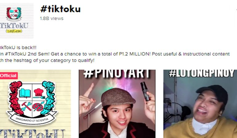 18B Views and Counting! Learning is Trending with #TikTokU