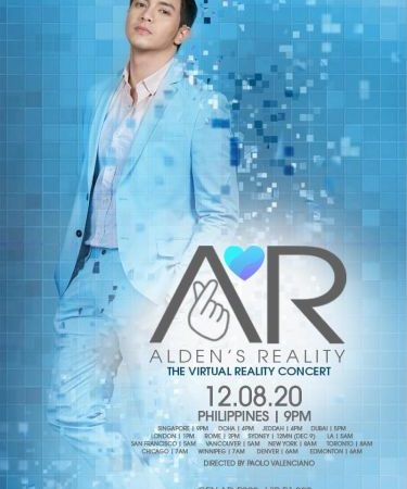 Alden's Reality (AR) – GMA Produces the Very First Virtual Reality Concert in the Philippines