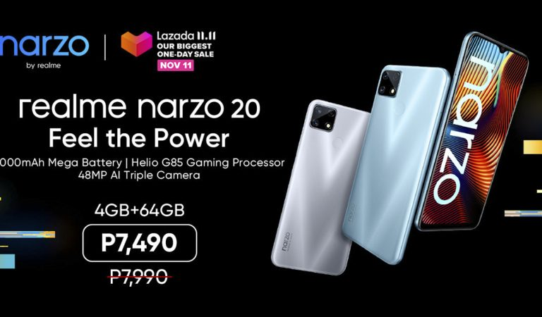 realme PH Unveils Narzo 20 Gaming Phone Under 8K – An Online Exclusive!