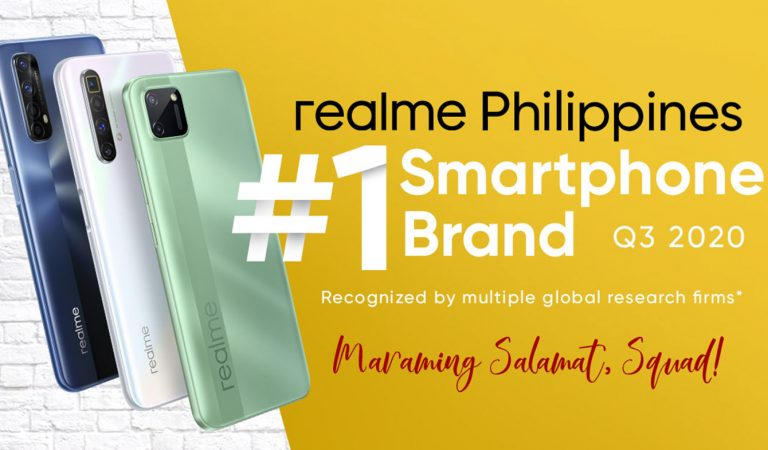 realme is Now the #1 Smartphone Brand in the Philippines