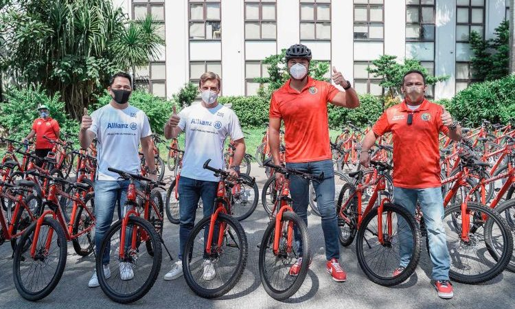 Allianz PNB Life Unveils the Philippines' First Solar-Powered Bike Pit Stop in San Juan
