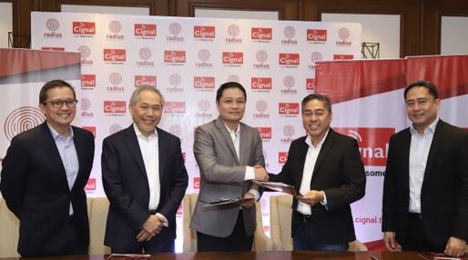 Cignal TV and Radius Telecoms Introduces RED Broadband – Fiber Internet + Pay TV