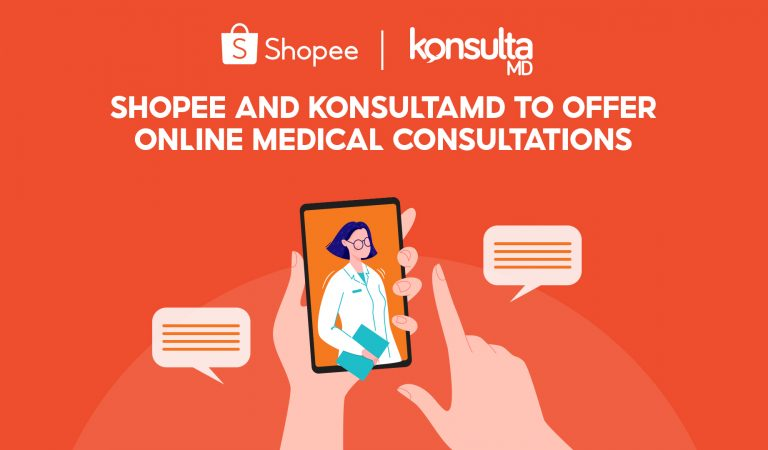 Shopee Partners with KonsultaMD, Offers Affordable Online Medical Consultations for Filipinos