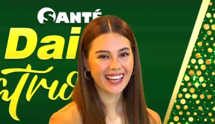 Miss Universe 2018 Catriona Gray Takes Santé Daily C 750mg for Extra Protection