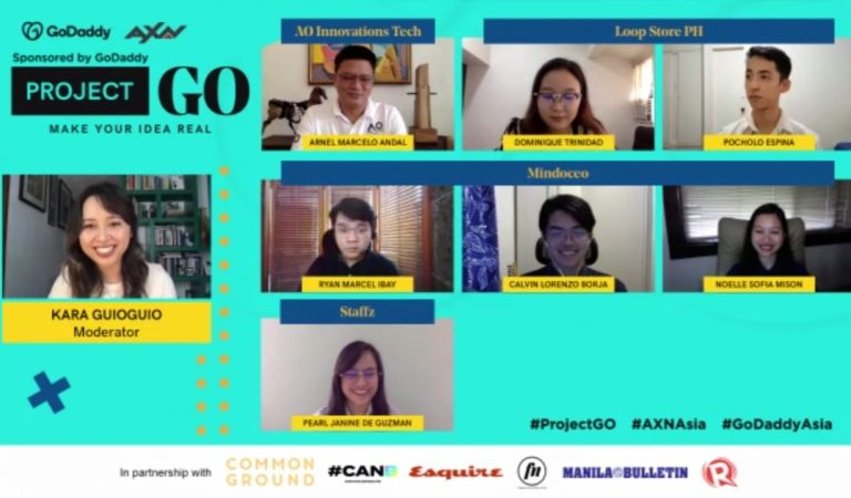 GoDaddy and AXN Asia's Project GO Reveals Top 4 Picks From Hundreds of Business Pitches