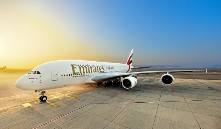 Emirates Welcomes its First of Three A380s – Partially Powered by Sustainable Aviation Fuel