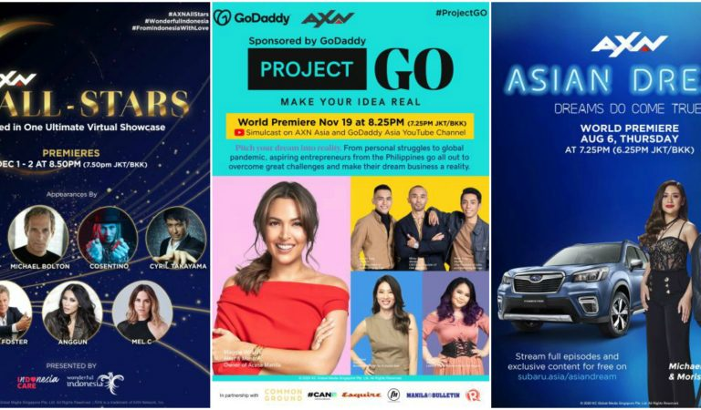 AXN Triumphs 2020 with Three Groundbreaking New Original Productions Made For Asia