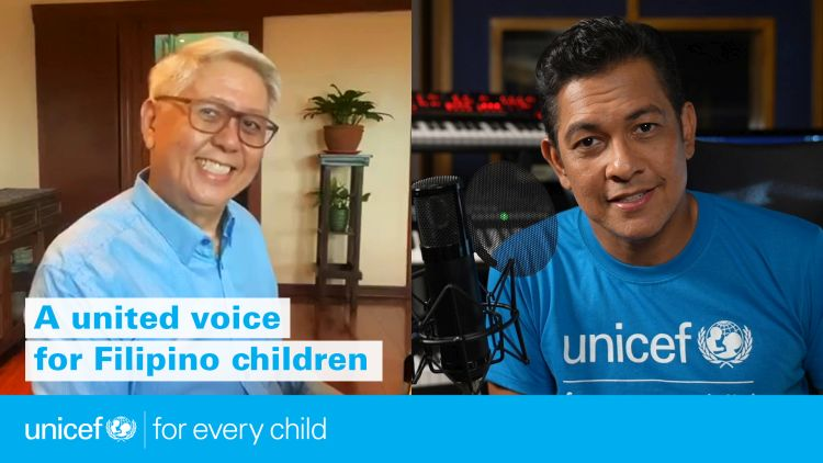 Gary V and Mr. C Collaborates for UNICEF's Basket of Hope