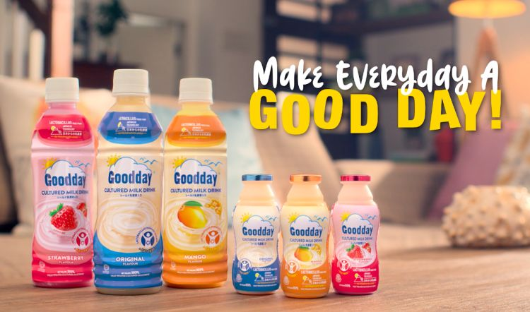 Goodday Cultured Milk Drink Launches in Southeast Asia via a Full Immersive Virtual Event