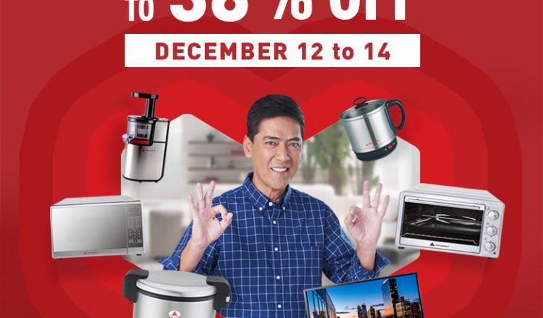 Enjoy Up to 38% Discount on Hanabishi Appliances  in Lazada's 12.12 Grand Christmas Sale