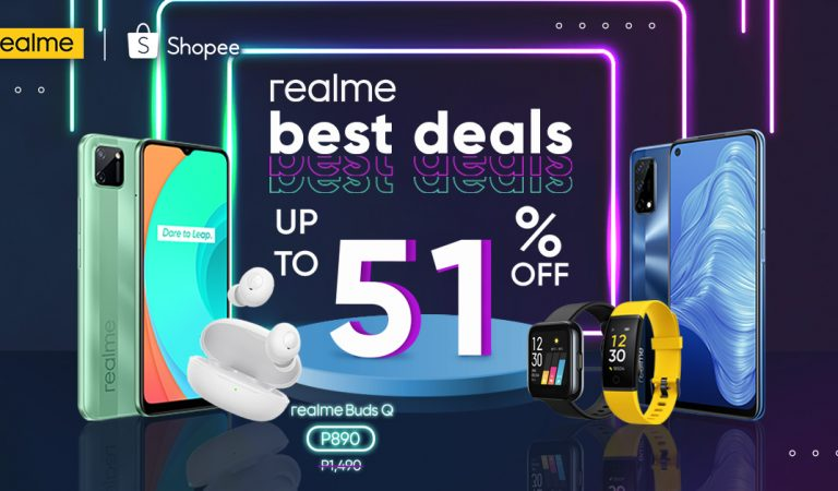realme Offers Up To 51% Discount at Shopee's 12.12 Big Christmas Sale